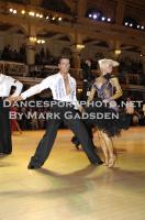 David Byrnes &amp; Karla Gerbes at Blackpool Dance Festival 2010