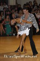 Raimondo Todaro &amp; Francesca Tocca at Blackpool Dance Festival 2007