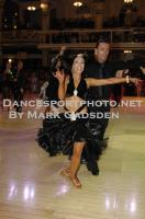 Emanuele Soldi &amp; Elisa Nasato at Blackpool Dance Festival