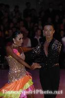 Alex Hou &amp; Melody Hou at Blackpool Dance Festival 2008