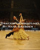 Michael Glikman & Milana Deitch at Australian Open 2010