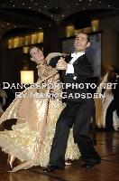 Michael Glikman & Milana Deitch at Crown Dancesport Championship 2011