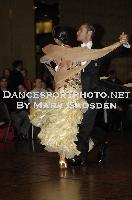 Michael Glikman &amp; Milana Deitch at Crown Dancesport Championship 2011