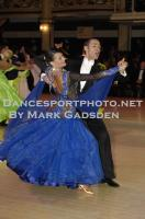 Michael Glikman & Milana Deitch at Blackpool Dance Festival