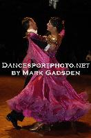 Michael Glikman & Milana Deitch at FATD National Capital DanceSport Championship
