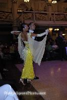 Michael Glikman & Milana Deitch at Blackpool Dance Festival 2008