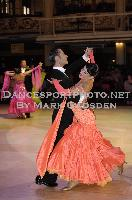 Michael Glikman & Milana Deitch at Blackpool Dance Festival 2009