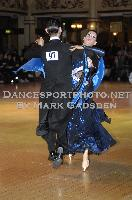 Michael Glikman &amp; Milana Deitch at Blackpool Dance Festival 2009