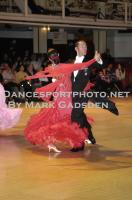 Michael Glikman & Milana Deitch at Blackpool Dance Festival 2010