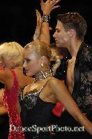 Kirill Belorukov & Elvira Skrylnikova at UK Open 2007