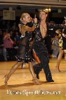 Kirill Belorukov & Elvira Skrylnikova at Blackpool Dance Festival 2007