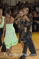 Kirill Belorukov &amp; Elvira Skrylnikova at Blackpool Dance Festival 2007