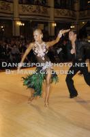 Kirill Belorukov & Elvira Skrylnikova at Blackpool Dance Festival 2010