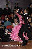 Mauro Favaro & Angelina Shabulina at Blackpool Dance Festival 2008