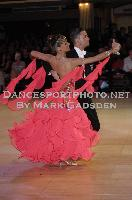 Mauro Favaro & Angelina Shabulina at Blackpool Dance Festival 2009