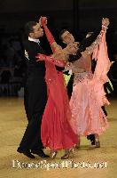 Luca Rossignoli & Veronika Haller at UK Open 2007