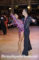 Franco Formica & Oxana Lebedew at Blackpool Dance Festival 2008