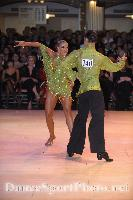 Franco Formica & Oxana Lebedew at Blackpool Dance Festival 2008