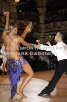 Franco Formica & Oxana Lebedew at Blackpool Dance Festival 2010