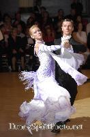 Alexandre Chalkevitch & Larissa Kerbel at Blackpool Dance Festival 2007