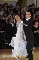 Grant Barratt-thompson & Mary Paterson at Blackpool Dance Festival 2008