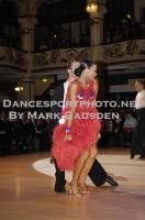 Stefano Moriondo & Malene Ostergaard at Blackpool Dance Festival 2010