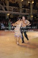 Ben Hardwick & Lucy Jones at Blackpool Dance Festival 2009