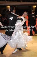 Domenico Marcheggiani & Gioia Marinelli at Blackpool Dance Festival 2009