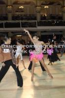 Dmitriy Pleshkov & Anastasia Kulbeda at Blackpool Dance Festival 2012