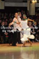 Lu Ning & Jasmine Ding Fang Zhang at Blackpool Dance Festival