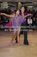 Lu Ning & Jasmine Ding Fang Zhang at Blackpool Dance Festival 2009