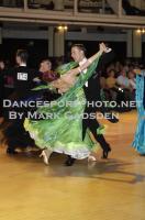 Ben Taylor & Stefanie Bossen at Blackpool Dance Festival 2010