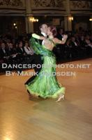 Ben Taylor &amp; Stefanie Bossen at Blackpool Dance Festival 2010