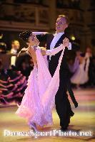 Christopher Short & Elisa Chanaa at Blackpool Dance Festival 2008
