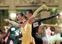 Alex Hou & Melody Hou at Blackpool Dance Festival 2005