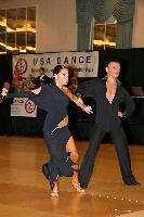 Eugene Katsevman & Maria Manusova at USA Dance National Championships
