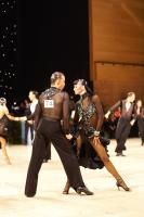 Anton Sboev & Patrizia Ranis at UK Open 2011