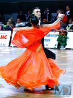 Stanislav Portanenko & Nataliya Kolyada at Kyiv Open 2012