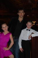 Igor Reznik & Polina Novoselova at