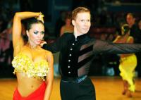 Neil Jones & Ekaterina Sokolova at Odesa Open Cup
