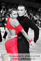 Vincenzo Mariniello & Sara Casini at German Open Championships 2009