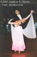 Victor Fung & Anna Mikhed at Emerald Ball 2004