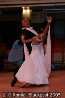 Dmytro Vlokh & Olga Urumova at Blackpool Dance Festival 2005