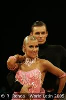 Dmytro Wloch & Olga Urumova at Czech Dance Open 2005