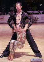 Dmytro Wloch & Olga Urumova at Kyiv Open 2006