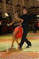 Dmytro Wloch & Olga Urumova at Blackpool Dance Festival 2007
