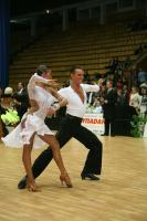 Dmytro Wloch & Olga Urumova at Ukrainian Open 2007