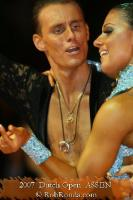 Dmytro Wloch & Olga Urumova at Dutch Open 2007