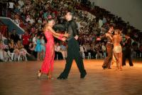 Dmytro Wloch & Olga Urumova at IDU Classificational World Championship 2008