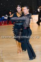 Dmytro Wloch & Olga Urumova at Moscow Star 2009